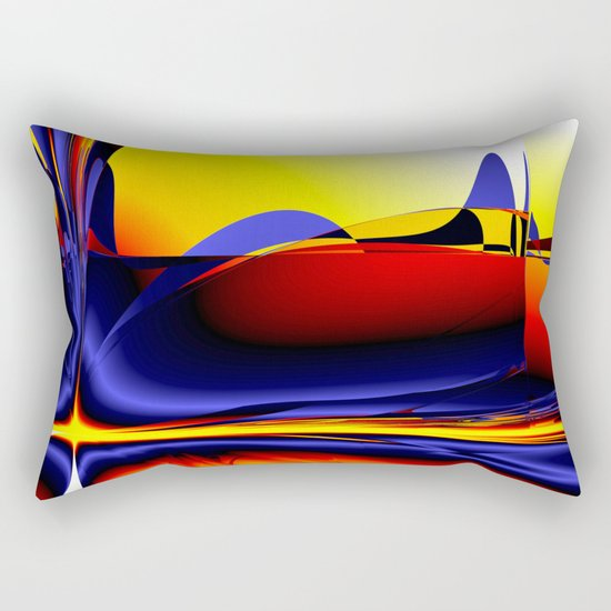 abstract shapes Rectangular Pillow