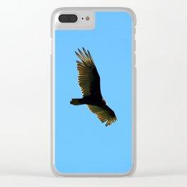 A Turkey Vulture In Tobermory Clear iPhone Case