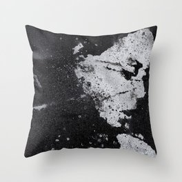 Perfect Pitch Black Throw Pillow