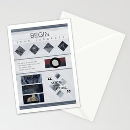 BTS Wings - Jungkook Begin Concept Stationery Cards