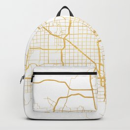 PHOENIX ARIZONA CITY STREET MAP ART Backpack