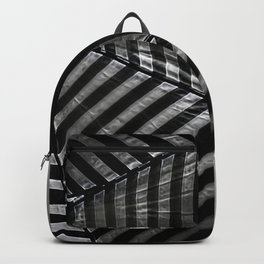 Black Abstract 5 Backpack