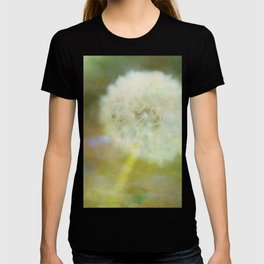 Dandelion Wishes Yellow T-shirt