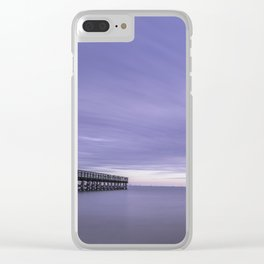 Moody Days of Winter III Clear iPhone Case