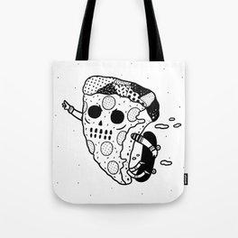 Pepperoni grab Tote Bag