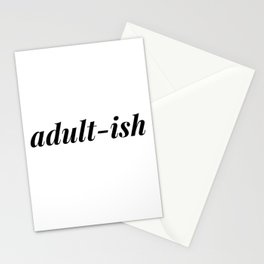 adultish Stationery Cards