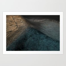 Concrete Wave Art Print