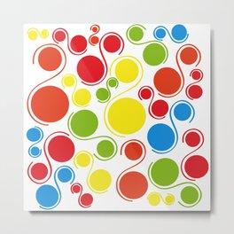 Bubbles of joy Metal Print
