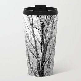 Maple Tree in Winter Travel Mug