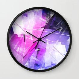 Replica - Geometric Abstract Art Wall Clock