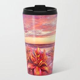 Radioactive flowers Travel Mug