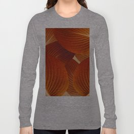 Leaves in Terracotta Color #decor #society6 #buyart Long Sleeve T-shirt