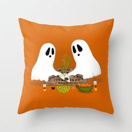 Ghouls Night Throw Pillow