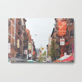 Mulberry Street Little Italy Metal Print
