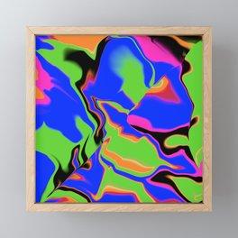 dreamland, 2 fault lines Framed Mini Art Print