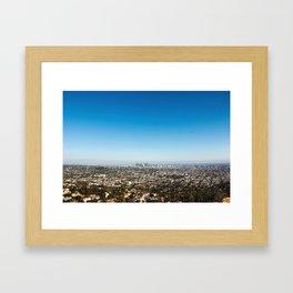 You Are My Heart, LA! Framed Art Print