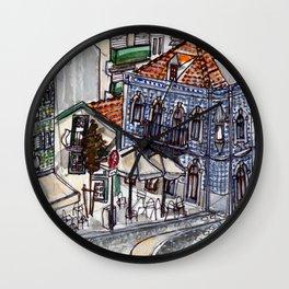 Buarcos, Portugal Wall Clock