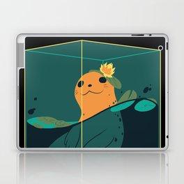 Seal (Teal) Laptop & iPad Skin