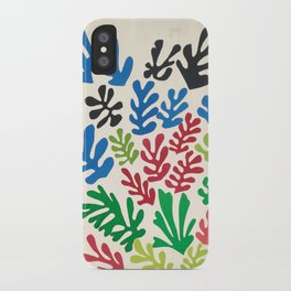 Leaf Cutouts by Henri Matisse (1953) iPhone Case