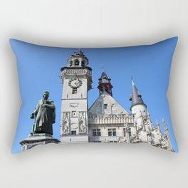 Medieval Belfort Aalst, Flanders, Belgium Rectangular Pillow