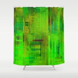 SchematicPrismatic 02 Shower Curtain