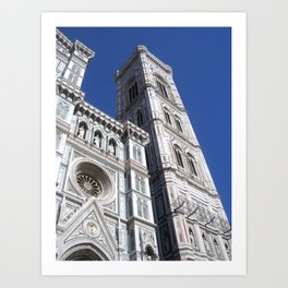 Florence Italy Dome Art Print