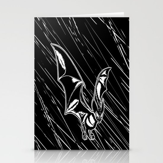 Bat Attack! Stationery Cards