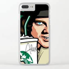 Ultra Milky Violence Clear iPhone Case