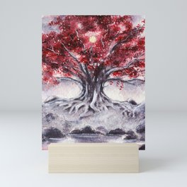 The White Tree Mini Art Print