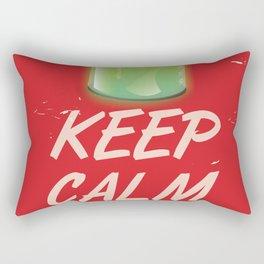 keep calm trust science Rectangular Pillow