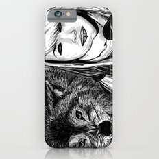The girl and the wolf Slim Case iPhone 6s
