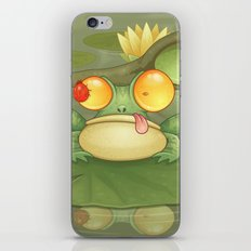 Swamp Snack iPhone & iPod Skin