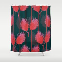 Rouge Flamant Shower Curtain