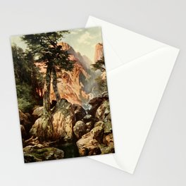 Moran, Thomas (1837-1926)  - Three wonderlands of the American West 1912 - Tolte Gorge, Colorad Stationery Cards