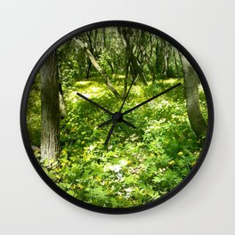 Last Looks Wall Clock