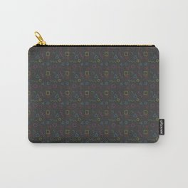geometric shapes patterns Carry-All Pouch