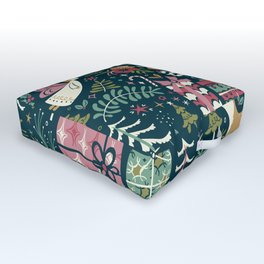 Christmas Joy Outdoor Floor Cushion