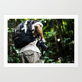 Adventure into the Rainforest Art Print