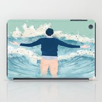men iPad Cases featuring Mad Men by lazy albino