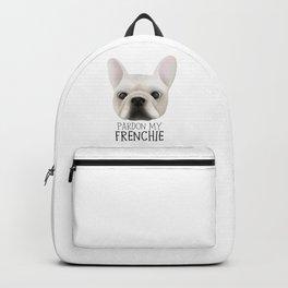 Pardon My Frenchie - French Bulldog Backpack