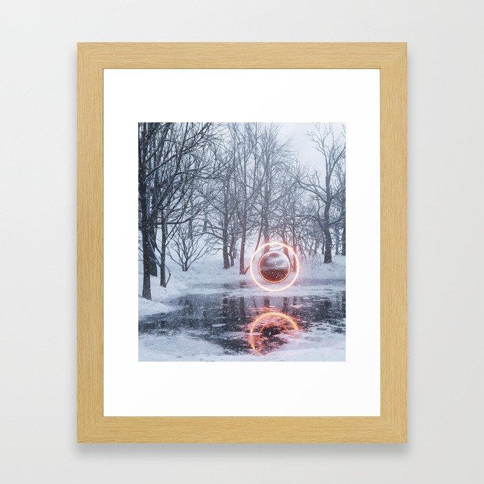 Q2x Framed Art Print
