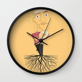 Bamba Wall Clock