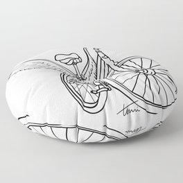 Dream Bike Floor Pillow