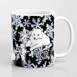 Foxes & Flakes Coffee Mug