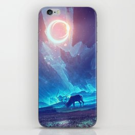 Stellar collision iPhone Skin