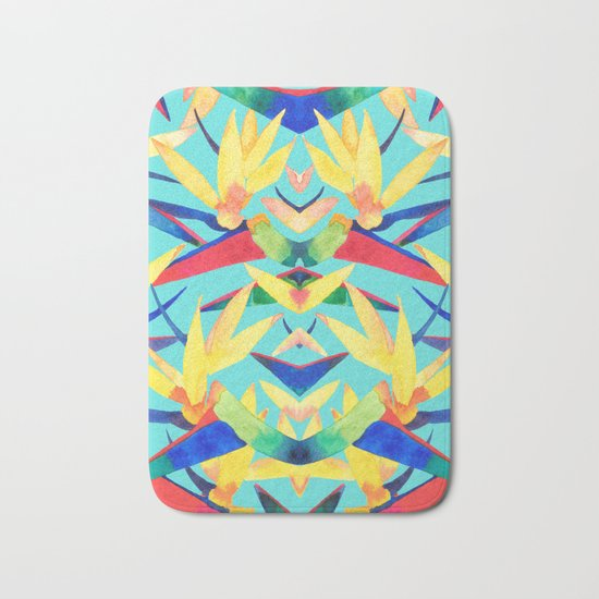 Summer Tropics Bath Mat