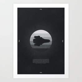 Faster Than Light - The Kestrel Art Print