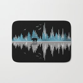 The Sounds Of Nature - Music Sound Wave Bath Mat