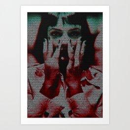 You'll be a woman soon Art Print