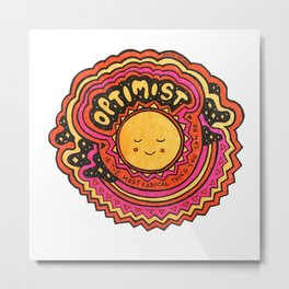Optimist Metal Print